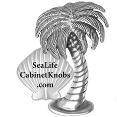 palm tree cabinet knobs 114l small left leaning 17 00 very rh pinterest com Tropical Palm Tree Storage Cabinet Cabinet Hardware Palm Tree