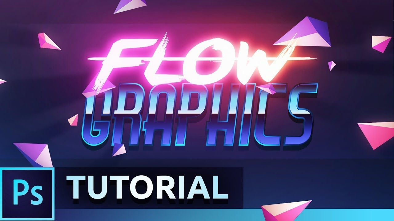 Retro Abstract Banner Tutorial