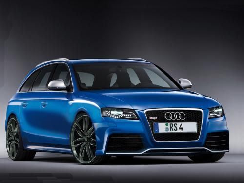 2012 Audi RS4 Avant. One day.