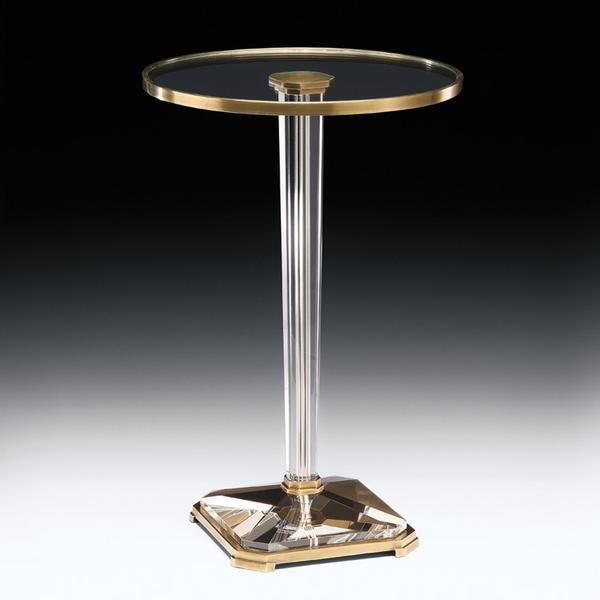 Crystal French Table Art Deco Brassamp; mwv8nN0