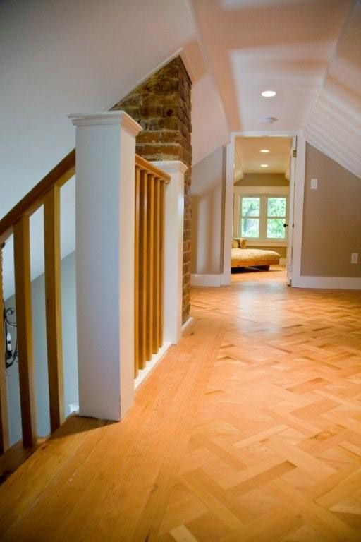 Low Ceiling Height But The Conversion Still Works Well Attic Renovation Low Ceiling Attic Remodel