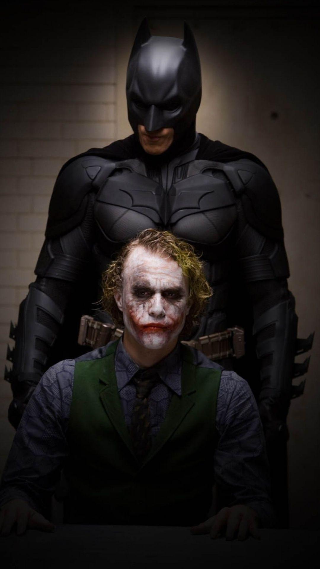 Batman And Joker 1080x1920 Joker Dark Knight Dark Knight Wallpaper Batman Joker