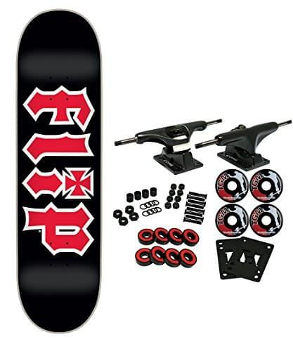 Flip Skateboard Complete Hkd Black 7 75 Online Skateboard Shop Dailyskatetube Com Flip Skateboards Skateboard Chocolate Skateboards