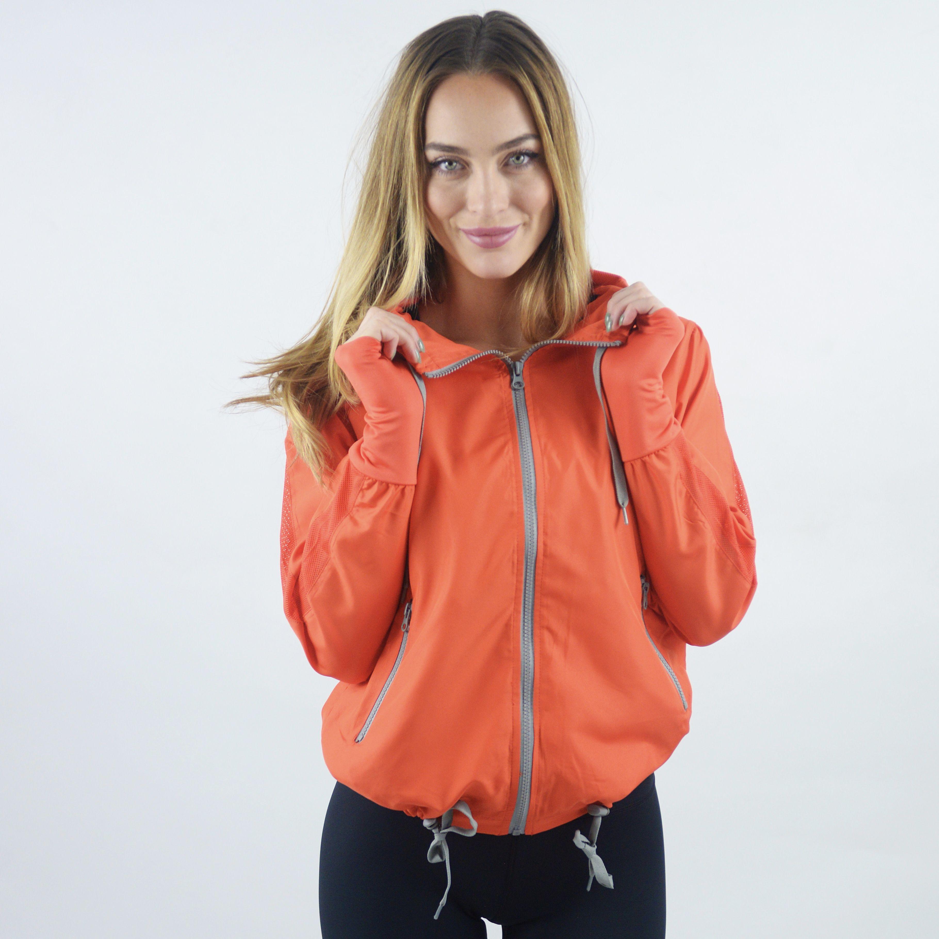 Tangerine Bomber Jacket Zyia Bomber Jacket Jackets Athletic Jacket [ 3641 x 3641 Pixel ]
