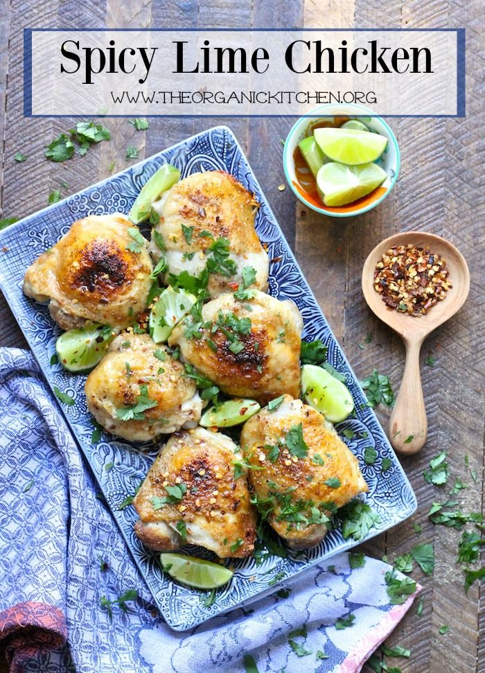 Spicy Lime Chicken Recipe With Images Real Food Recipes