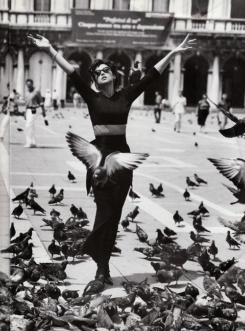 Iconic vintage fashion photography