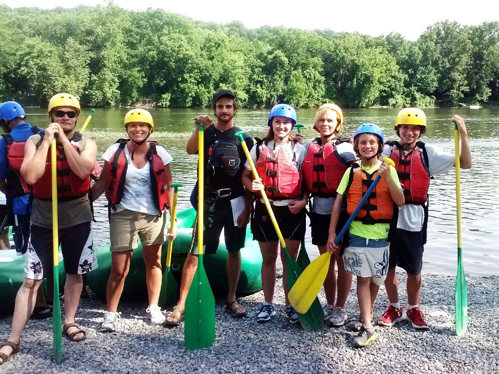 Everyone loves to have JAKE as a raft guide on the Shenandoah!