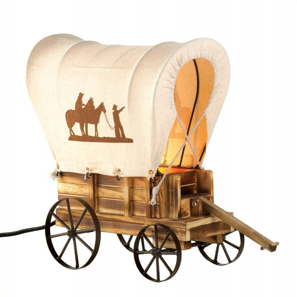 Western Covered Wagon Style Decorative