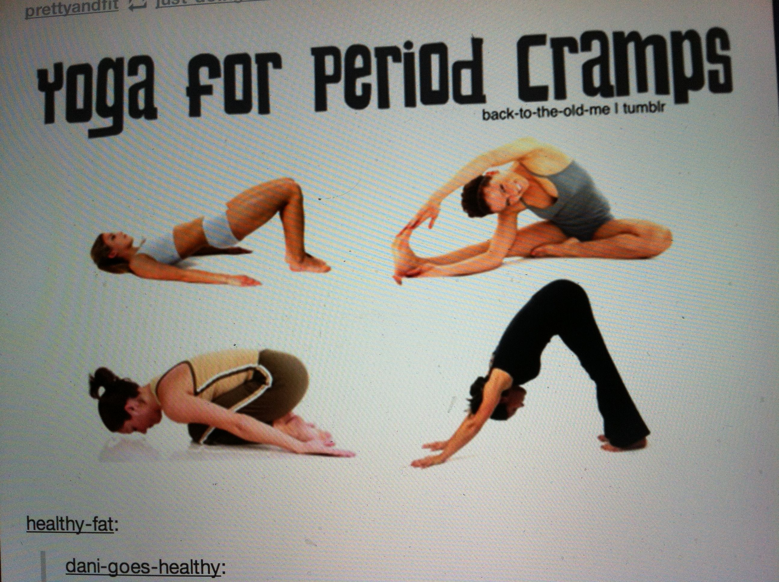 Yoga for period cramps fitness pinterest period cramps yoga how to get rid of period cramps and other bodily pains ccuart Images