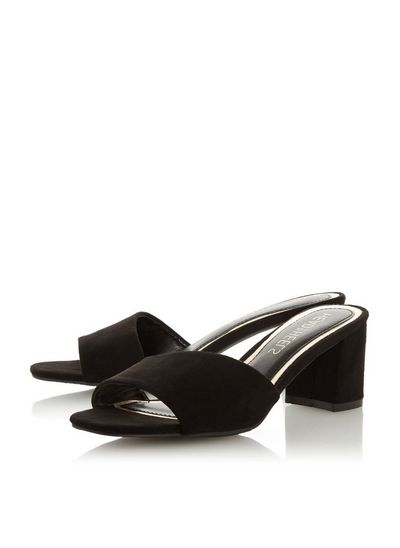 Head over heels by dune sandals black women shoes mules