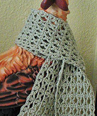 March Scarf Crochet Pattern http://allcraftsblogs.com ...