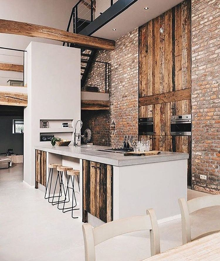 14+ Outstanding Industrial Loft Building Ideas #industrialfarmhouselivingroom