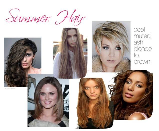 Hair By Season Summer Hairstyles Summer Hair Color Soft Summer