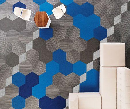 Hexagon A Carpet Tile Evolution Modular Carpet Tiles
