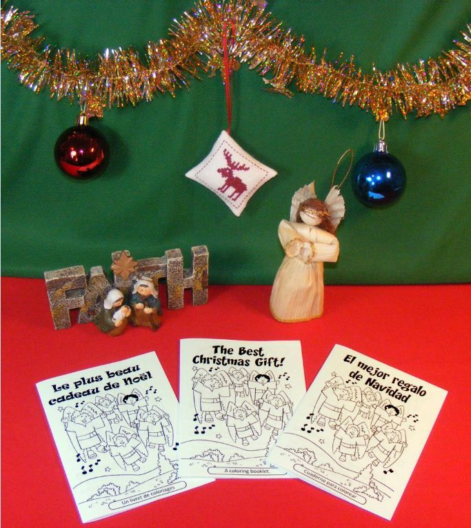 Free Printable Bible Coloring Pages The Story Of Christmas Available In Several Languages