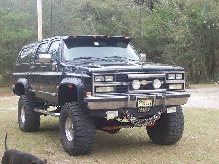 1983 chevy suburban off road | 1989 Chevrolet K20 Suburban Photo Gallery - DRUMMERGATOR