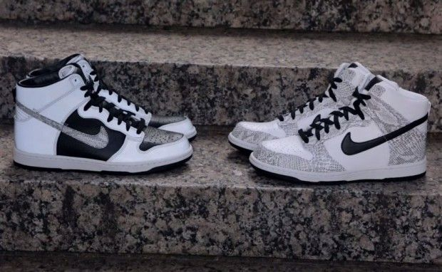 """brand new 96153 40891 Live Look Nike Dunk High Premium SP """"Snake"""" Pack"""