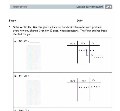 Grade 2 Place Value Practice Or Re Teaching Worksheets Engageny