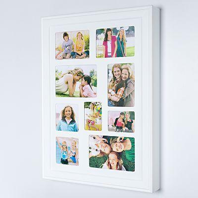 9-opening Wall-Mount Photo Jewelry Box