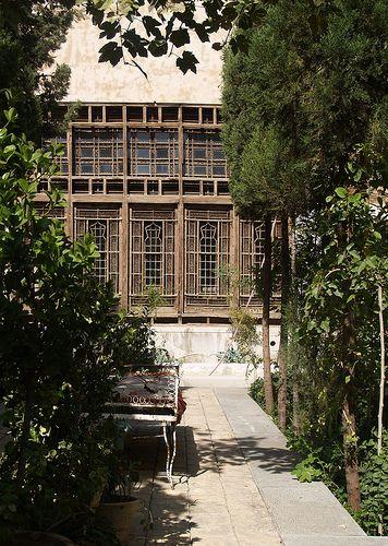 painter's house, isfahan, iran october 2007 by seier+seier, via Flickr