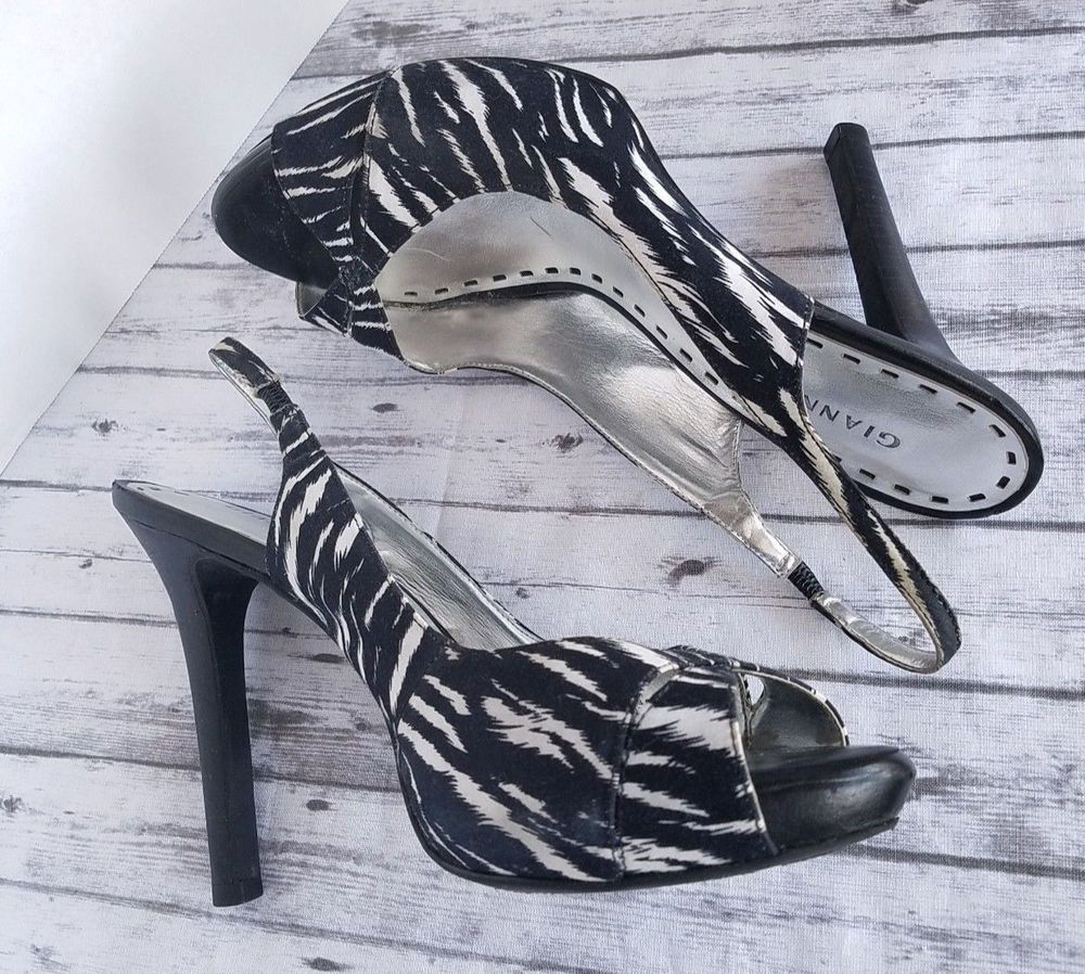 Jlo Sz 8.5 High Heel Shoe #fashion #clothing #shoes