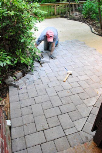 How To Lay A Paver Patio: Gravel, Sand, And Stones | Diy ...
