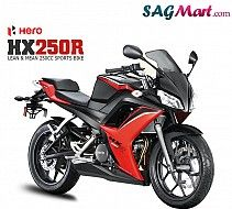 Hero unveils HX250 R Motor Cycle. Get more details from SAGMart