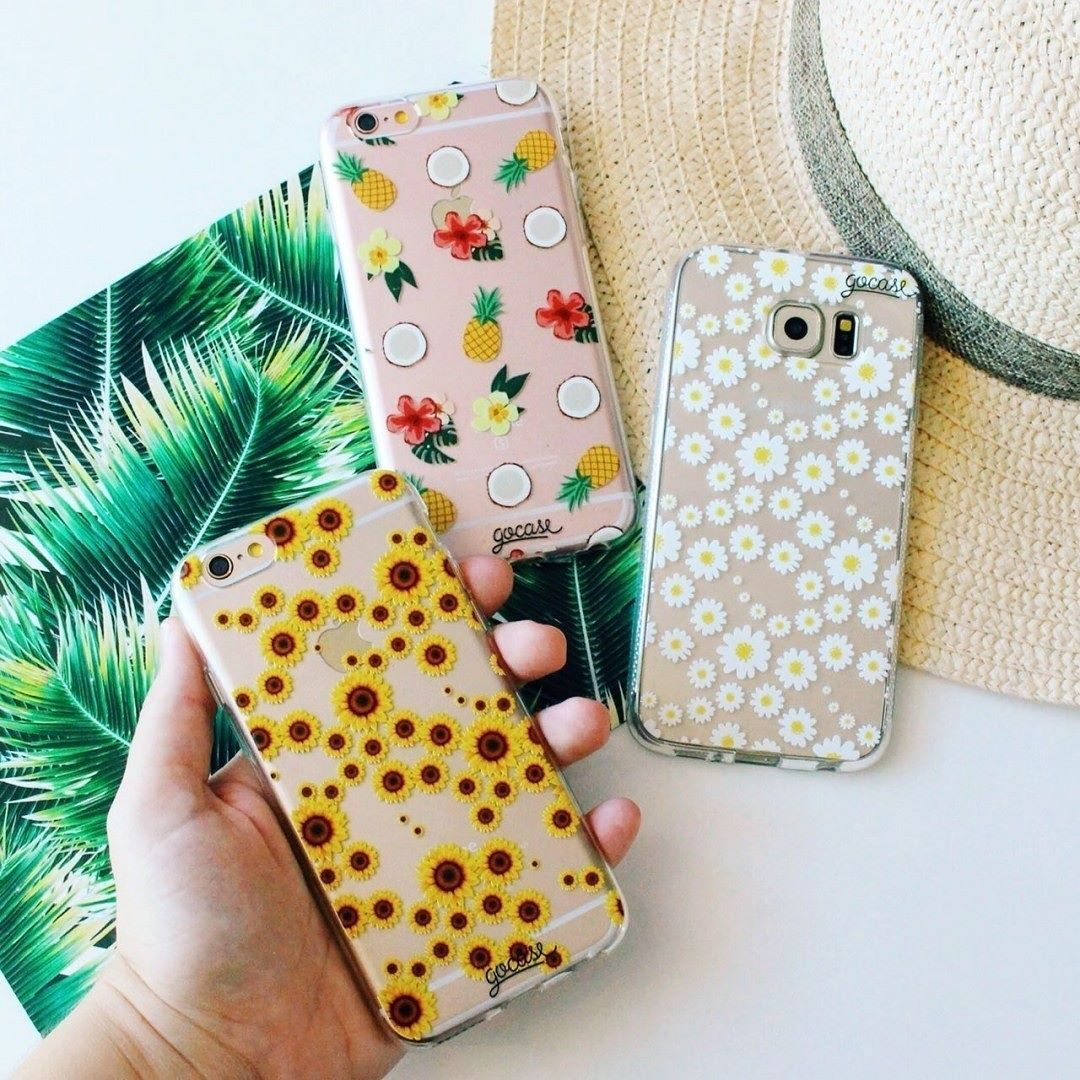 Get tropical with these phone cases tap the link