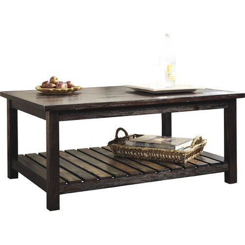 Found It At Joss Main Corrine Coffee Table Cool Coffee Tables Rectangular Coffee Table Brown Coffee Table
