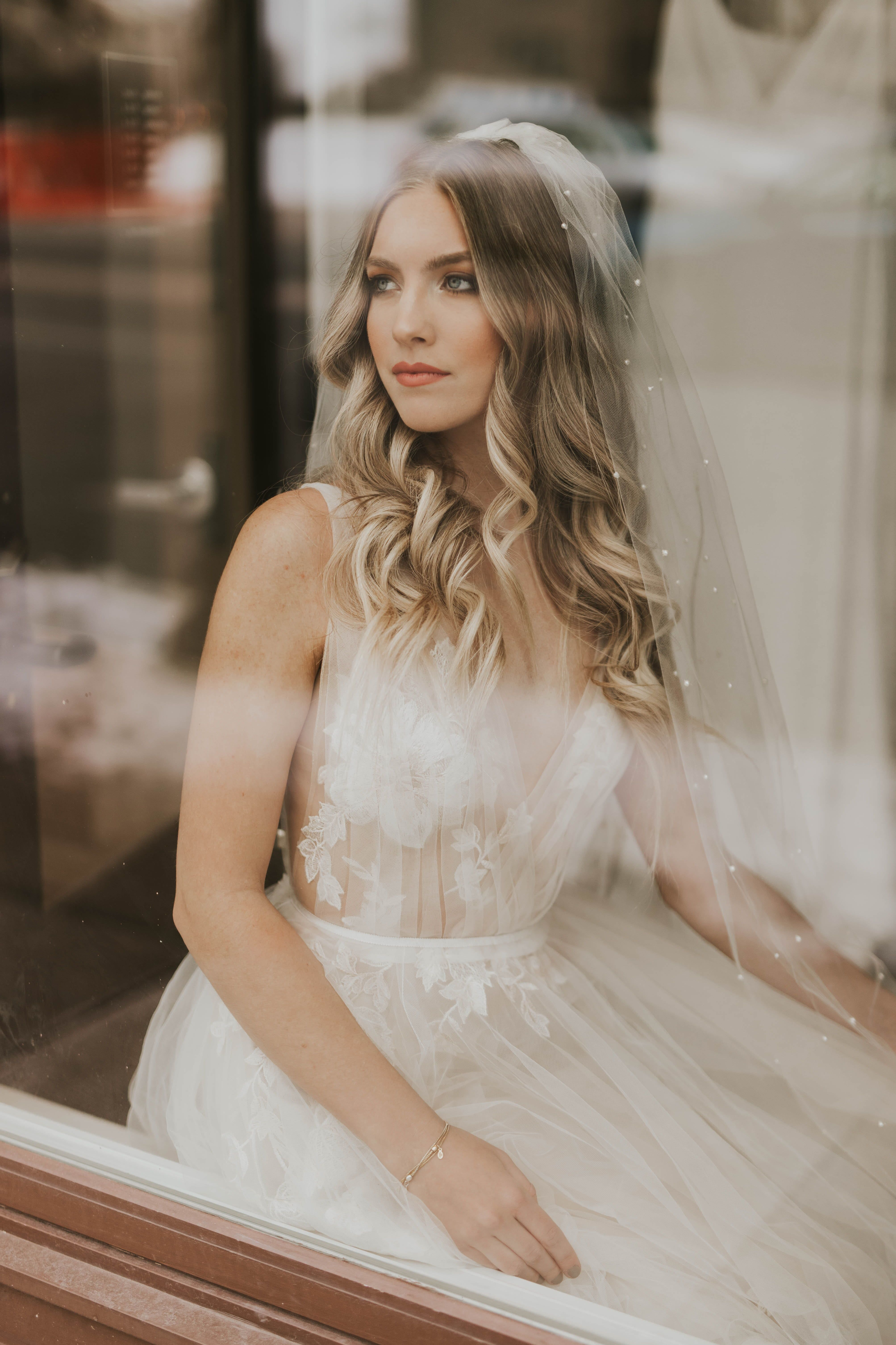 cb1ff5da0 Lainie by Willowby | Available at Minneapolis, Dallas, Denver, Miami,  Seattle + Portland a&bé bridal shops | Tulle aline wedding dress with large  floral ...