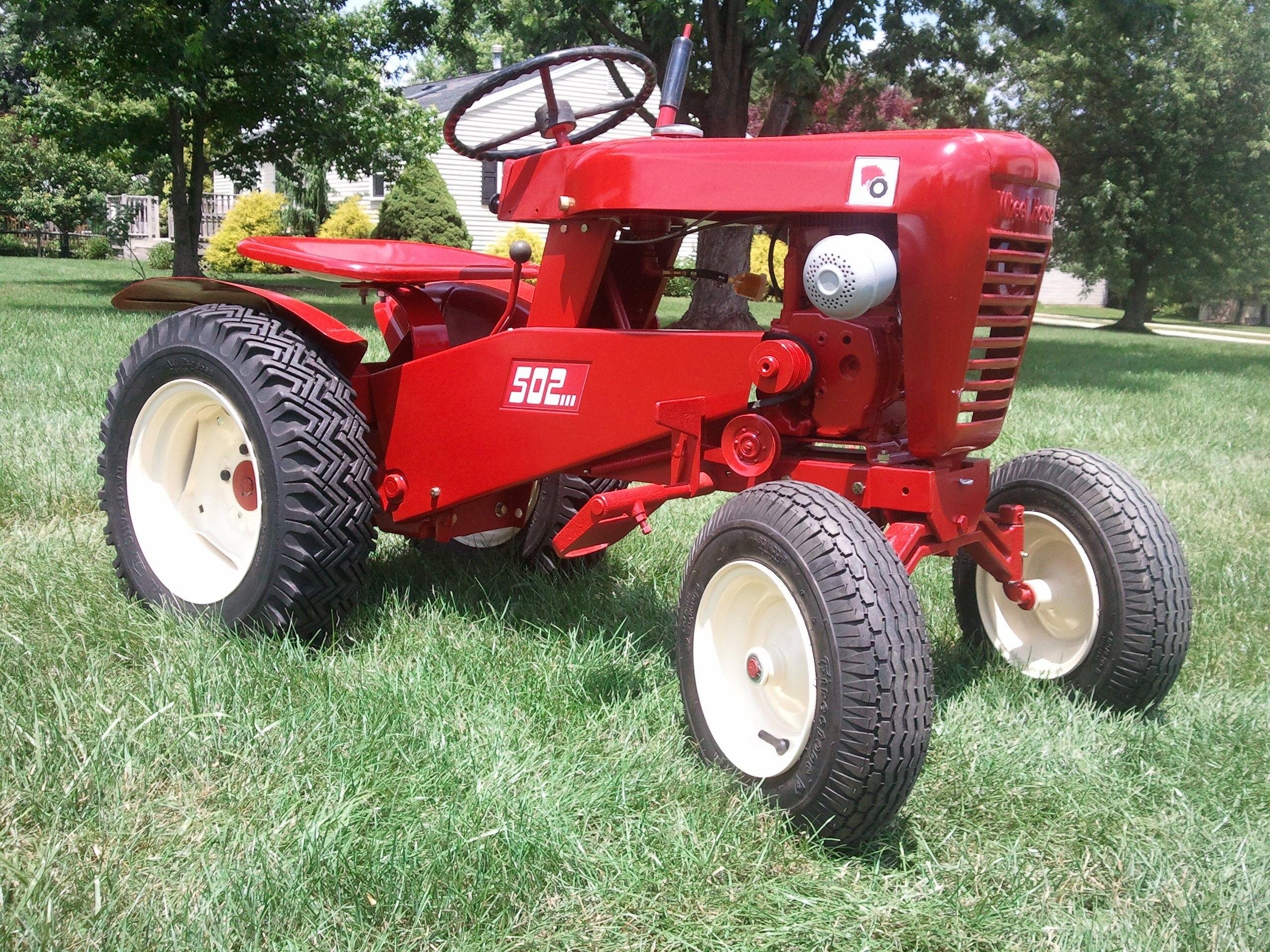 Wiring Diagram Wheel Horse Lawn Tractor Whirlpool Refrigerator 1962 502 Tractors Pinterest