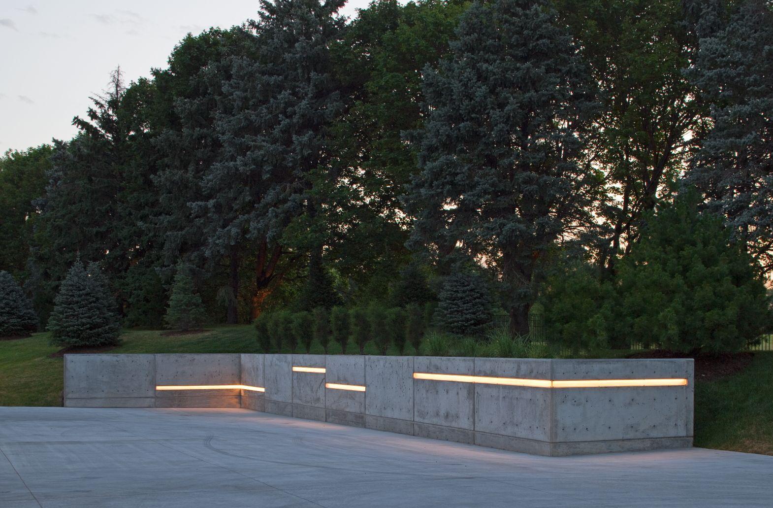 Massivt Spring 2012 Landscape Lighting with LED strip lighting in long OB94