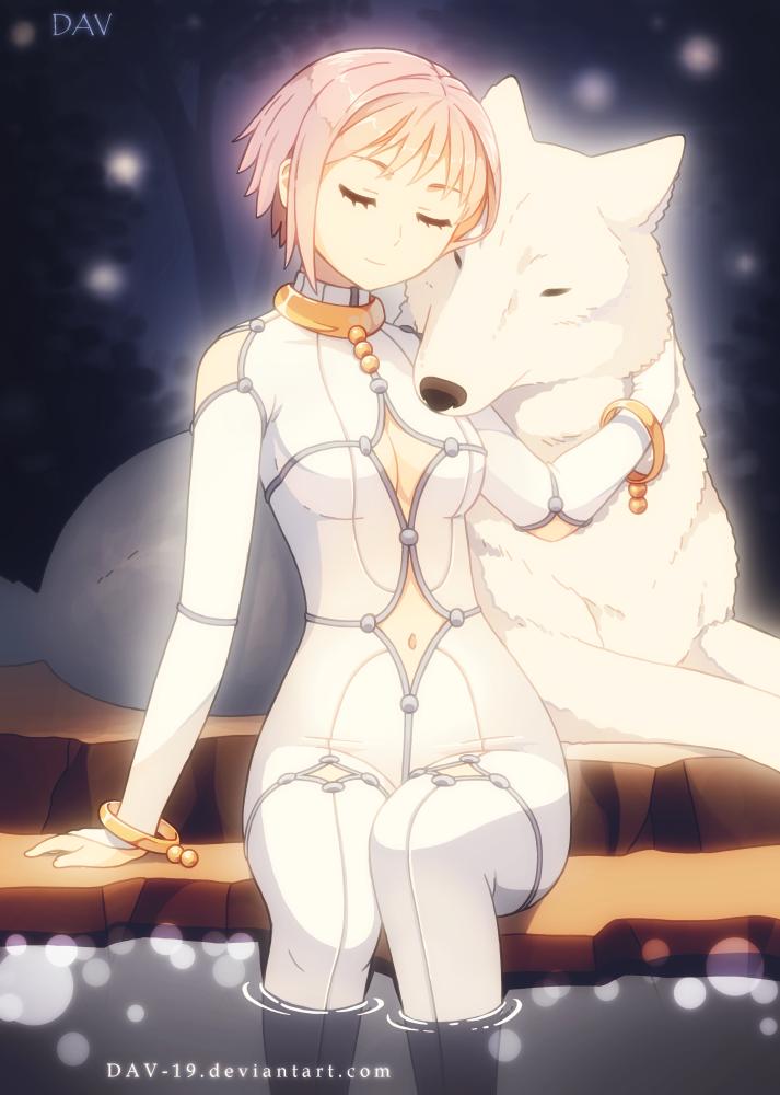 Wolf's Rain by *DAV19 Cheza & Kiba Anime, Anime wolf