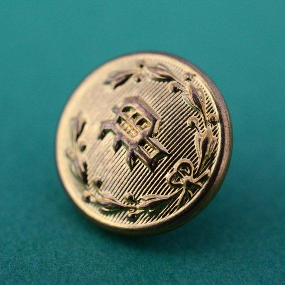 Brass Police Department Buttons - Waterbury Button Company