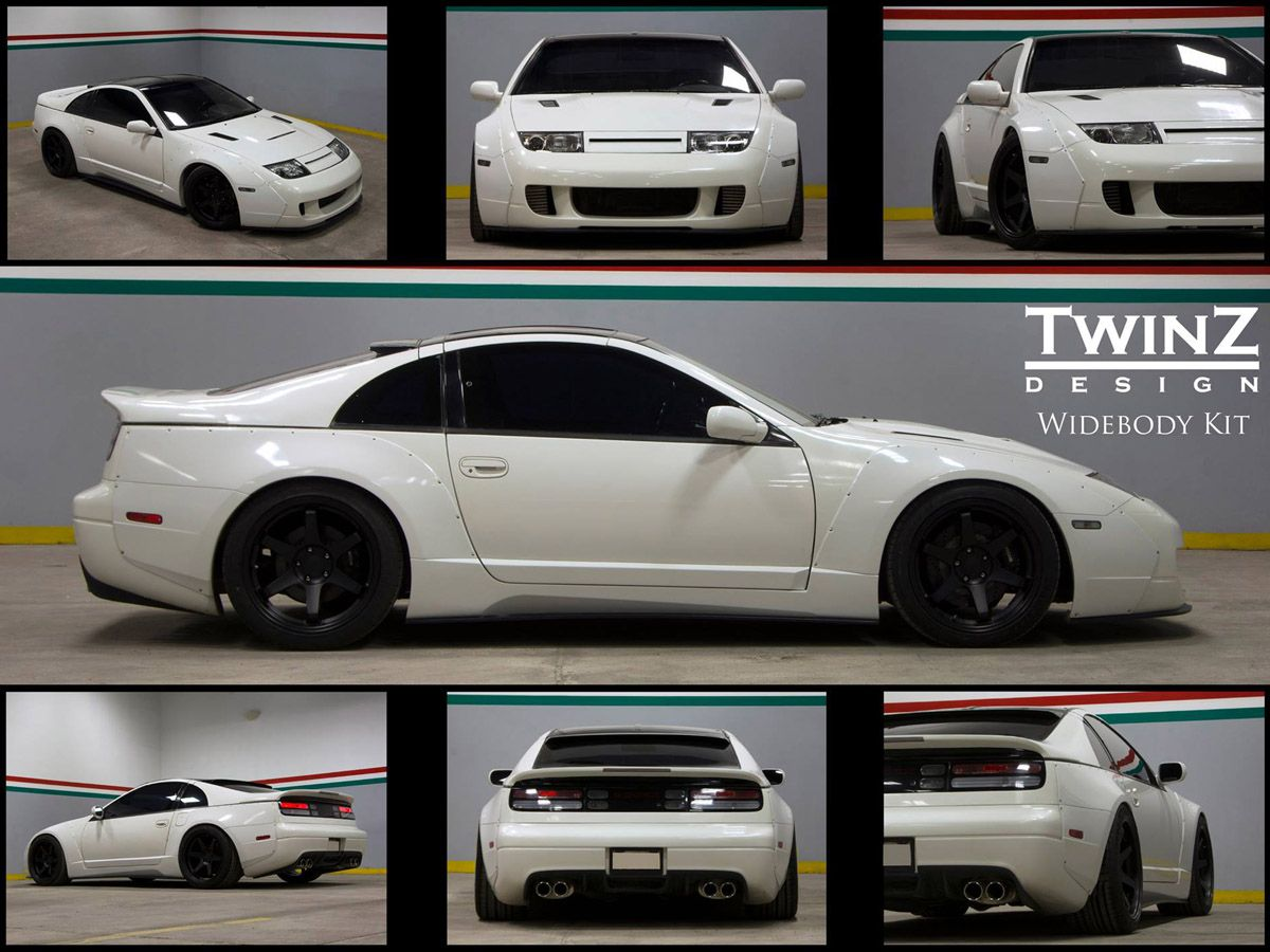 TwinZ Design Z32 2 Seater Widebody Kit - Complete 13 Piece