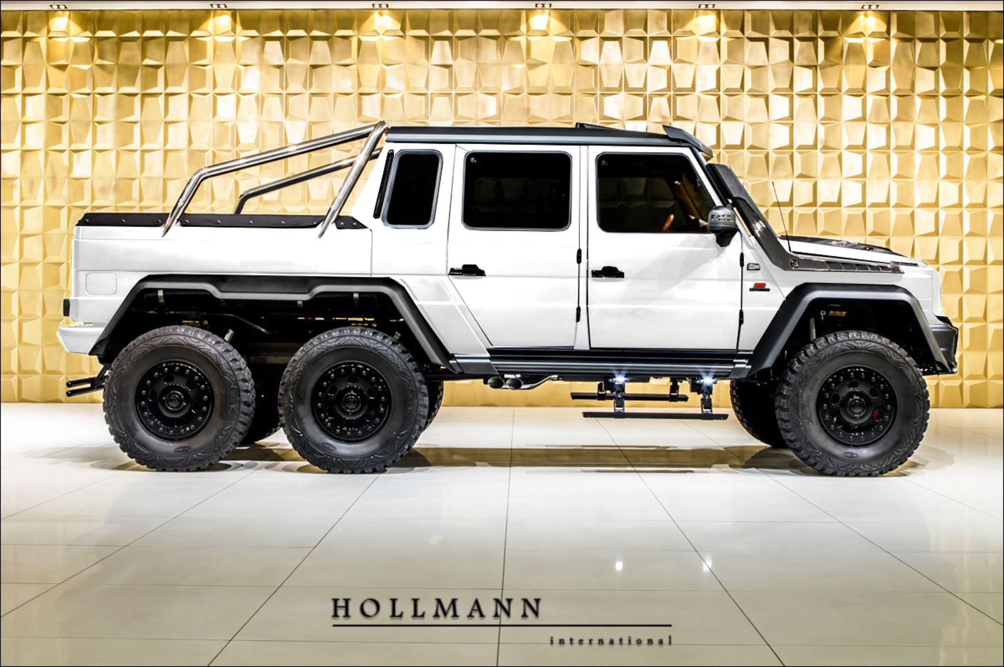 Mercedes Benz G 63 6x6 Amg Brabus 700 Hollmann Luxury Pulse