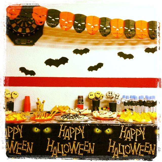 Decoraci n de la fiesta infantil de halloween para - Fiesta halloween infantil ...