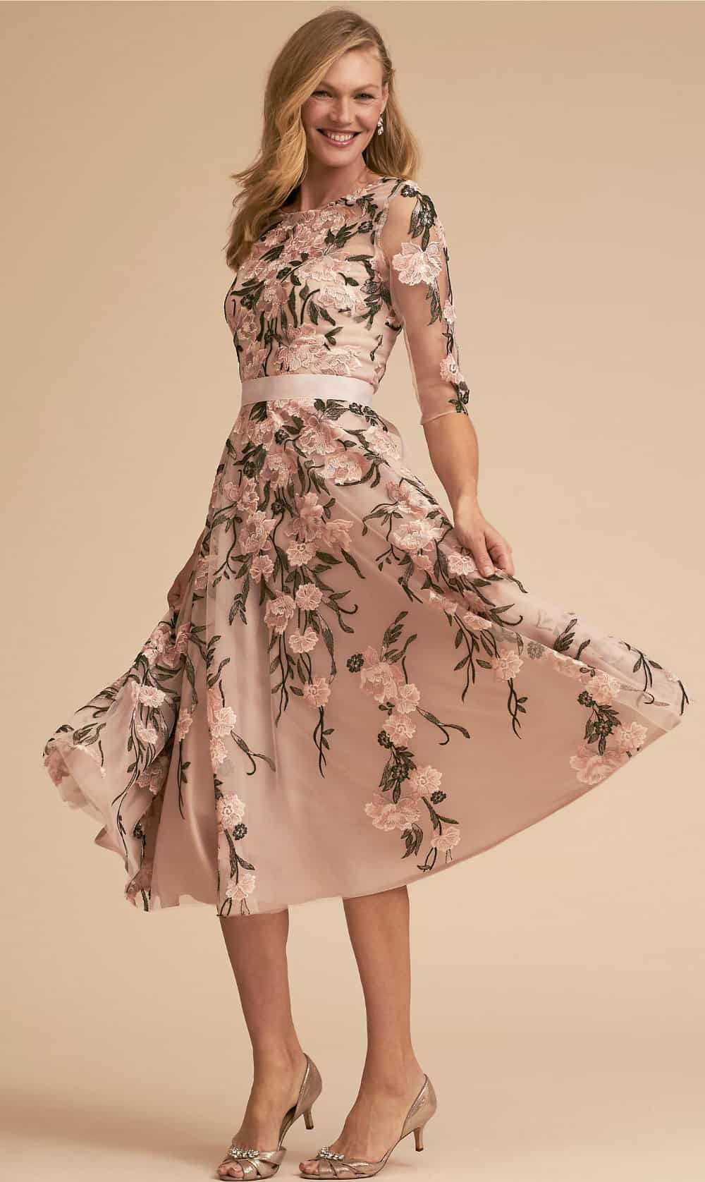 Floral Mother Of The Bride Dresses Mother Of The Bride