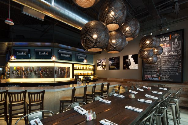 Eureka Seattle Clay Aurell Aia Leed Ap Ncarb Archinect Restaurant Design Inspiration Industrial Restaurant Design Interior Design Dining Room