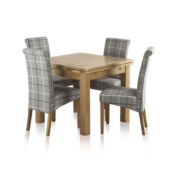 Astonishing Natural Solid Oak Dining Sets 3Ft Dining Table With 4 Machost Co Dining Chair Design Ideas Machostcouk