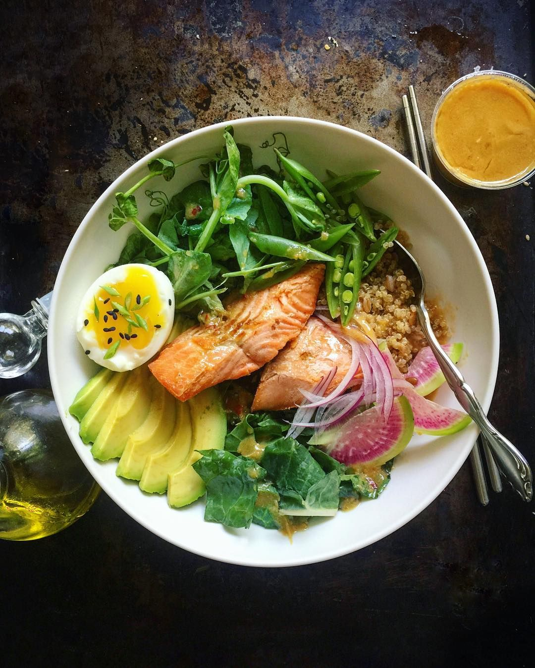 """picked up @sweetgreen yesterday. on way home got """"last ..."""