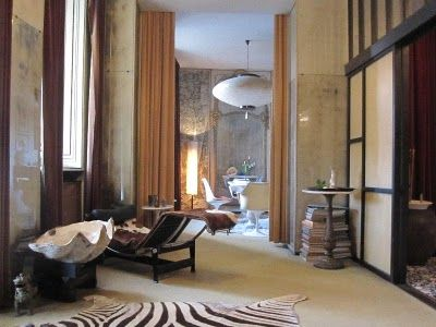 Exceptional Carlo Mollino Turin Apartment. What A Nice Perspective And Light! This Is  The Entrance Home Design Ideas