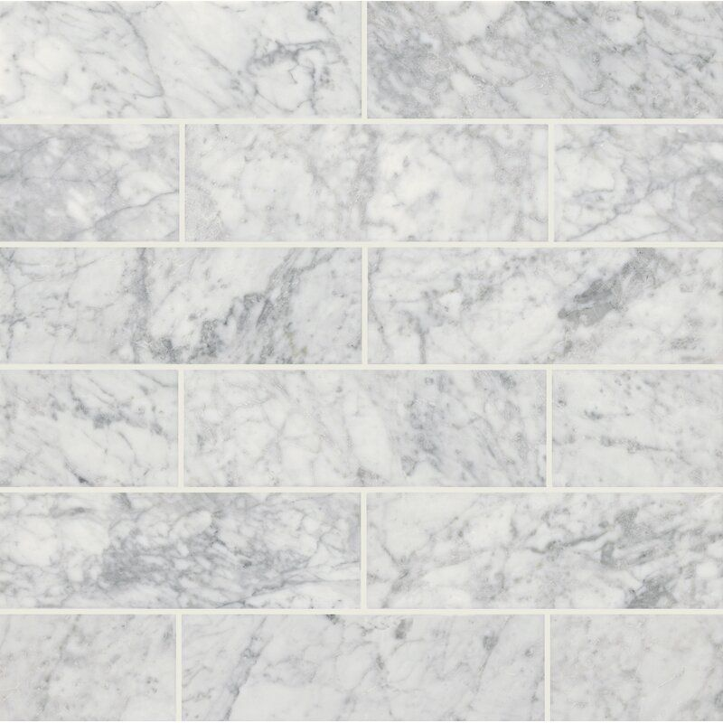 4 X 12 Marble Look Wall Floor Tile In 2020 Honed Marble Floor Honed Marble Honed Marble Tiles