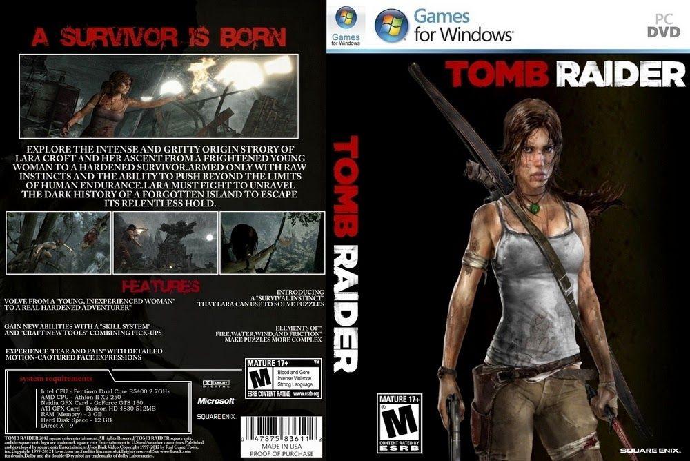 Tomb Raider 2013 Genre Action Dvd 3 Dvd Price Rp 15 000