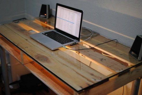 Schreibtisch selber bauen -106 originelle Vorschläge! | Schreibtisch ...