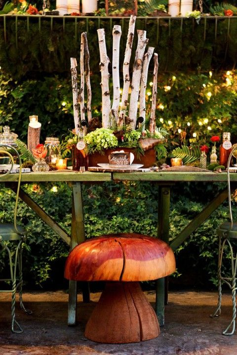 65 Outdoor Woodland Wedding Decor Ideas | WOODLAND BABY ...