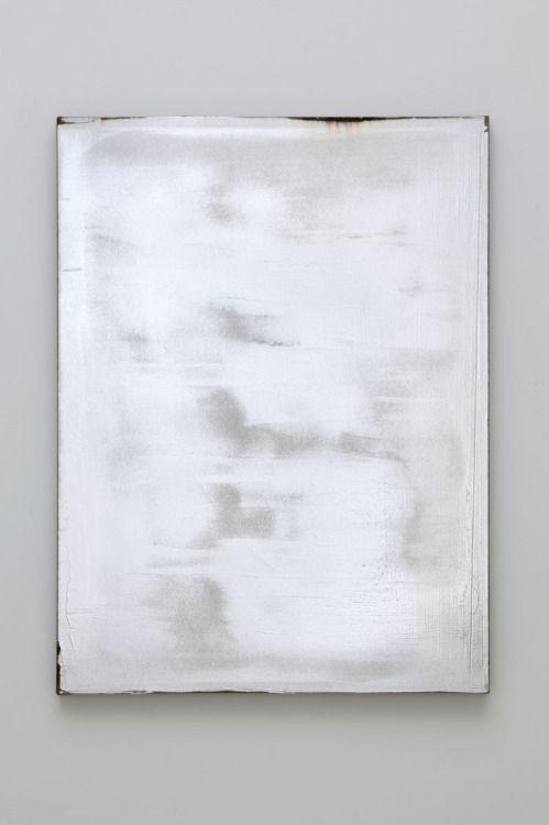 Jacob Kassay ┃ Untitled, 2009