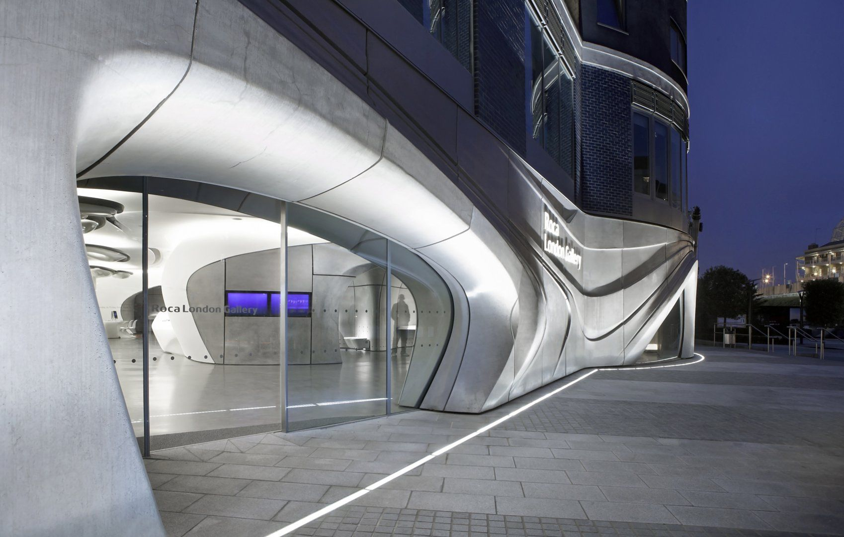 Roca London Gallery Architecture Zaha Hadid Architects Zaha Hadid Zaha Hadid Design