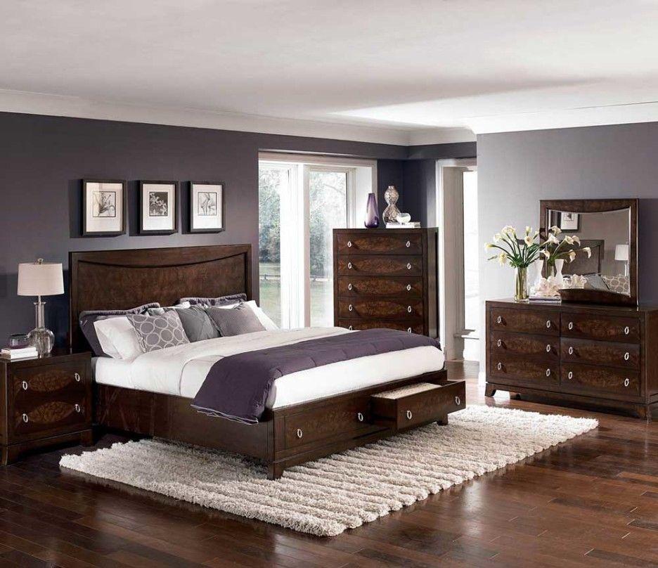 Bedroom Design Storage Platform Bedroom Sets Modern Bedroom Dark