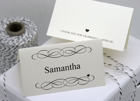 Free Diy Printable Place Card Template And Tutorial Wedding Place Card Templates Printable Place Cards Templates Printable Place Cards